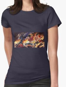 Sabo & Luffy & Ace Womens Fitted T-Shirt