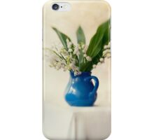 Lilly of the valley iPhone Case/Skin