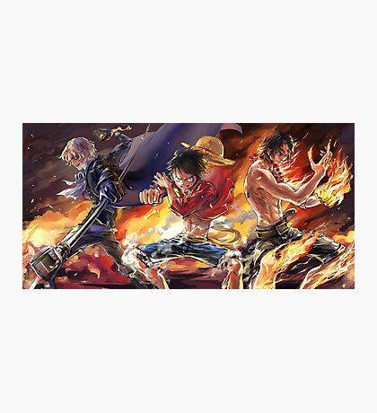 Sabo & Luffy & Ace Photographic Print