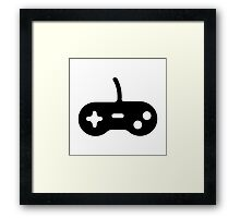 Game Console Joy Stick Framed Print