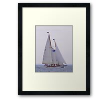 The Brilliant At Speed Framed Print