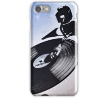 Cosmic deejay iPhone Case/Skin