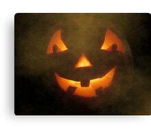 Halloween Welcome Canvas Print