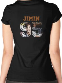 BTS Jimin Women's Fitted Scoop T-Shirt