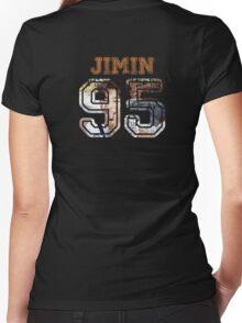 BTS Jimin Women's Fitted V-Neck T-Shirt
