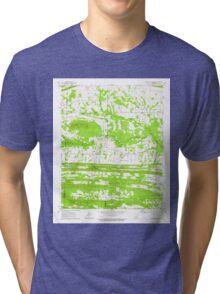 USGS TOPO Map Arkansas AR Mountain Springs 259159 1963 24000 Tri-blend T-Shirt