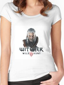 Witcher Wild Hunt  Women's Fitted Scoop T-Shirt