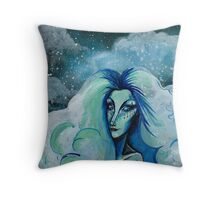 Cloud Betty ~ Lady In The Sky Throw Pillow