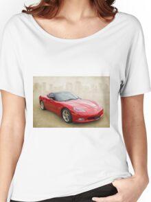 Red Corvette Women's Relaxed Fit T-Shirt
