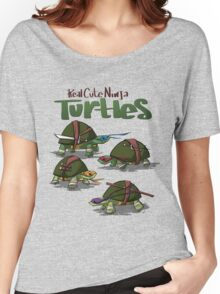 Real cute ninja turtles Women's Relaxed Fit T-Shirt