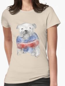 Western Bulldogs ( Go Doggies! ) Womens Fitted T-Shirt
