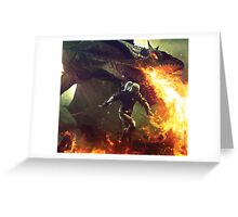 Witcher - Assassins of Kings Greeting Card