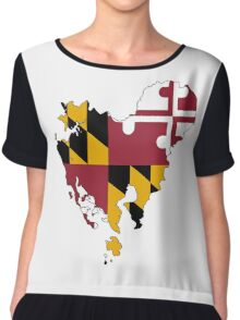 Dorchester County, Maryland Chiffon Top