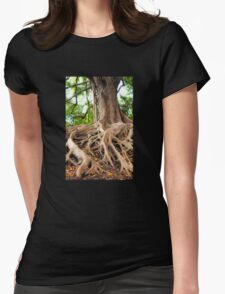 Tree Magic  Womens Fitted T-Shirt