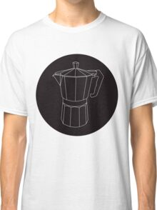 Moka Black Circle Classic T-Shirt