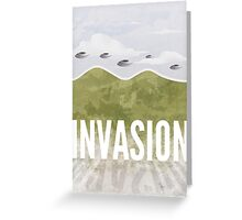 Invasion - Summer of discontent Greeting Card