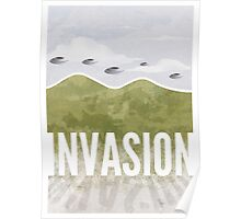 Invasion - Summer of discontent Poster
