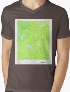 USGS TOPO Map Arkansas AR Felsenthal Dam 258449 1981 24000 Mens V-Neck T-Shirt