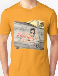 Fighter Nose Art - Guess who ! T-Shirt