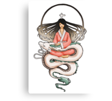 Sen & Haku Canvas Print