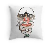 Sen & Haku Throw Pillow
