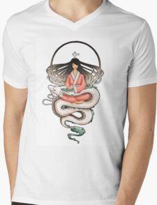 Sen & Haku Mens V-Neck T-Shirt
