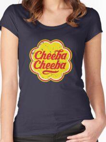 Cheeba Cheeba Women's Fitted Scoop T-Shirt