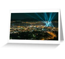 Articulated Intersect Over Hobart Greeting Card
