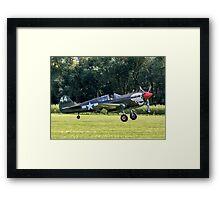 Curtiss P-40M Kittyhawk 43-5802 G-KITT Framed Print