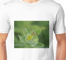 Grasshopper at Gwithian Nature Reserve in Cornwall.  Unisex T-Shirt
