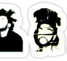 Silhouettes Sticker