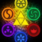 Legend of Zelda - Ocarina of Time - The 6 Sages by B-Shirts