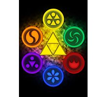 Legend of Zelda - Ocarina of Time - The 6 Sages Photographic Print