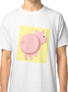 Pig Without the Pun Classic T-Shirt