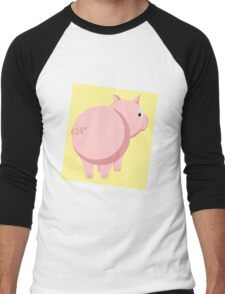 Pig Men's Baseball ¾ T-Shirt