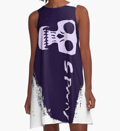 Spooky - Dark A-Line Dress