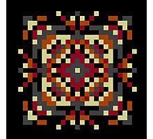 Pixel puke No. 6 Icon Photographic Print