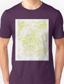 USGS TOPO Map Arkansas AR Morganton 259127 1961 24000 Unisex T-Shirt