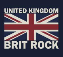 UK brit rock Kids Tee