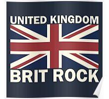 UK brit rock Poster