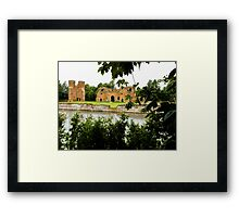 old brick castle  Framed Print