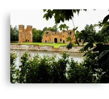 old brick castle  Canvas Print