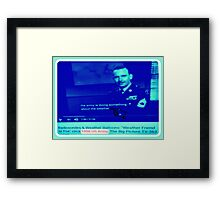 ARMY WEATHER Framed Print