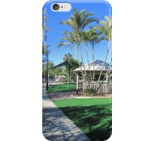 Berautification of Foreshore, Redcliffe. Moreton Bay. Qld. iPhone Case/Skin