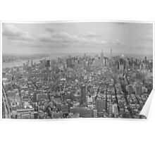 Manhattan From Above Poster