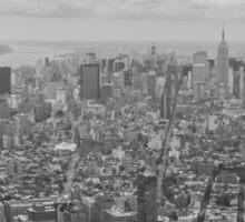 Manhattan From Above Sticker