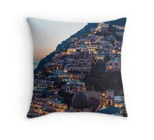 Positano Sunset Throw Pillow