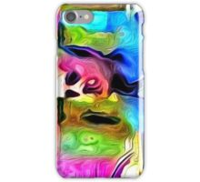 Fake Painted Portrait iPhone Case/Skin