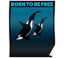 MOTHER AND CHILD BLACK - ORCA Poster