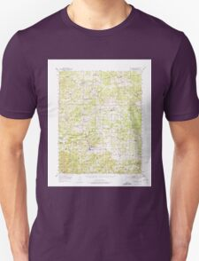 USGS TOPO Map Arkansas AR Melbourne 260192 1951 62500 Unisex T-Shirt